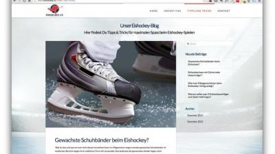 Webdesign für Eishockey Anfänger