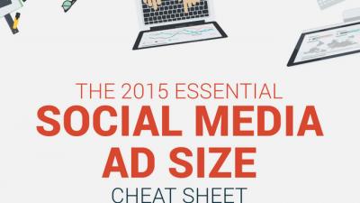 Größen für Social Media Werbeanzeigen 2015